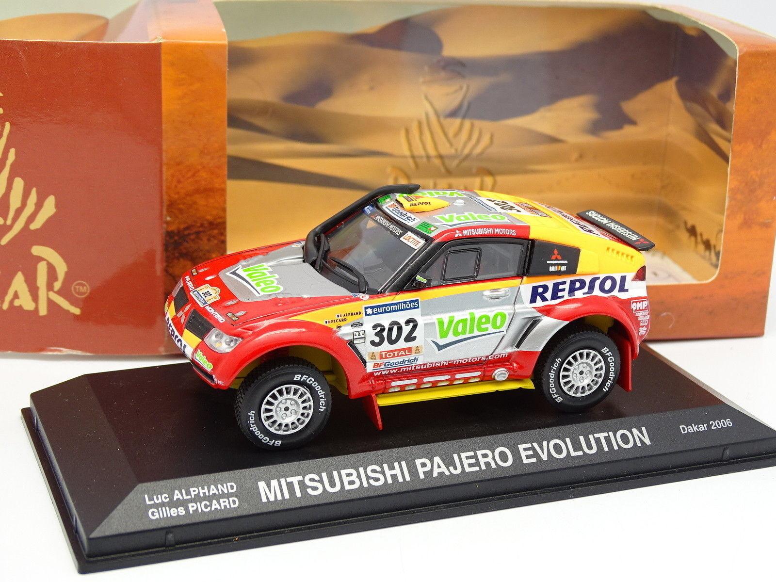 Norev 1 43 - Mtsubishi Pajero Evolution Paris Dakar 2006