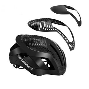 RockBros MTB Road Bike Cycling EPS Integrally Helmet 3 in 1 Size 57cm-62cm Red