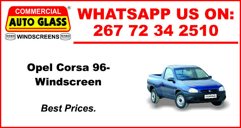 Windscreen For Opel Corsa 96 For Sale.