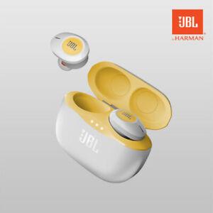 Jbl Tune 120 Tws Truly Wireless In Ear Bluetooth Earphone Headphone Yellow Ebay