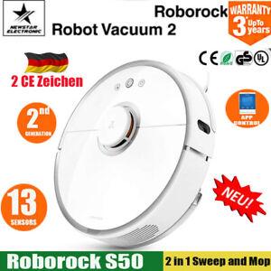 Roborock-S50-Staubsauger-Roboter-Smart-Vacuum-Cleaner-APP-LDS-Path-Planing-DE-EU