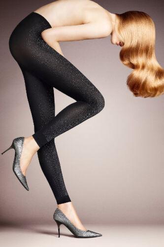FALKE SEASONS STARDUST LEGGINGS Colour Black// Gold or Silver B-sortiment