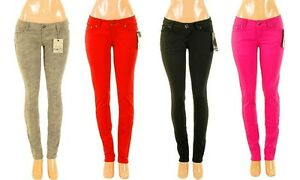 Lot-Womens-Stretch-Moleton-Twill-Pants-Skinny-Jeans-Jeggings-0-1-3-5-7-9-11-13