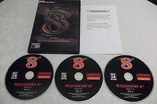 WIZARDRY VIII 8 PC CD-ROM RPG V.G.C. ( free next day 1st class post )