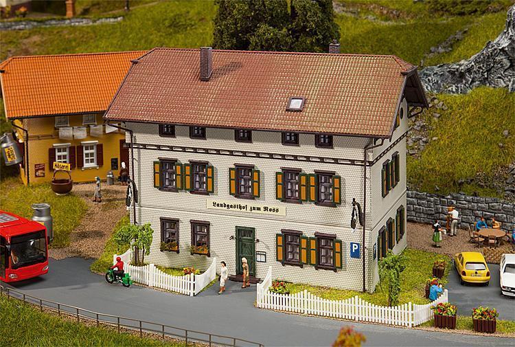 Faller 130444 H0 Gasthaus Zum Ross NEUHEIT 2014 OVP +