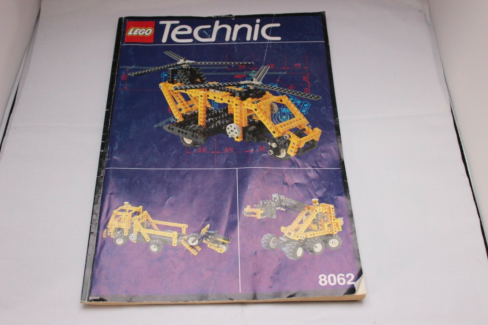 LEGO Technic 8062 Universal Set Greifer/LKW/Hubschrauber