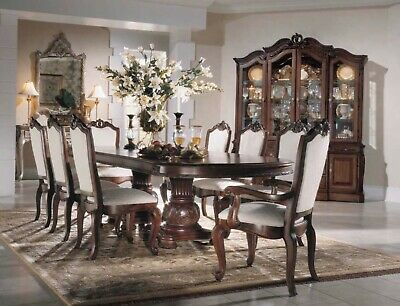 Formal Double Pedestal Dining Room The Bob Mackie Collection By American Drew Ebay