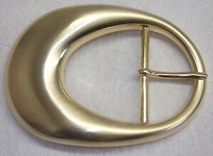 #471# 1 Schließe  Gürtelschnalle Schnalle  4 cm silber bicolor rostfrei NEU