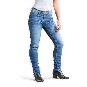 be1004f374 La foto se está cargando Draggin-Racey-Drayko-Womens-moto-Jeans-senoras- pantalones-