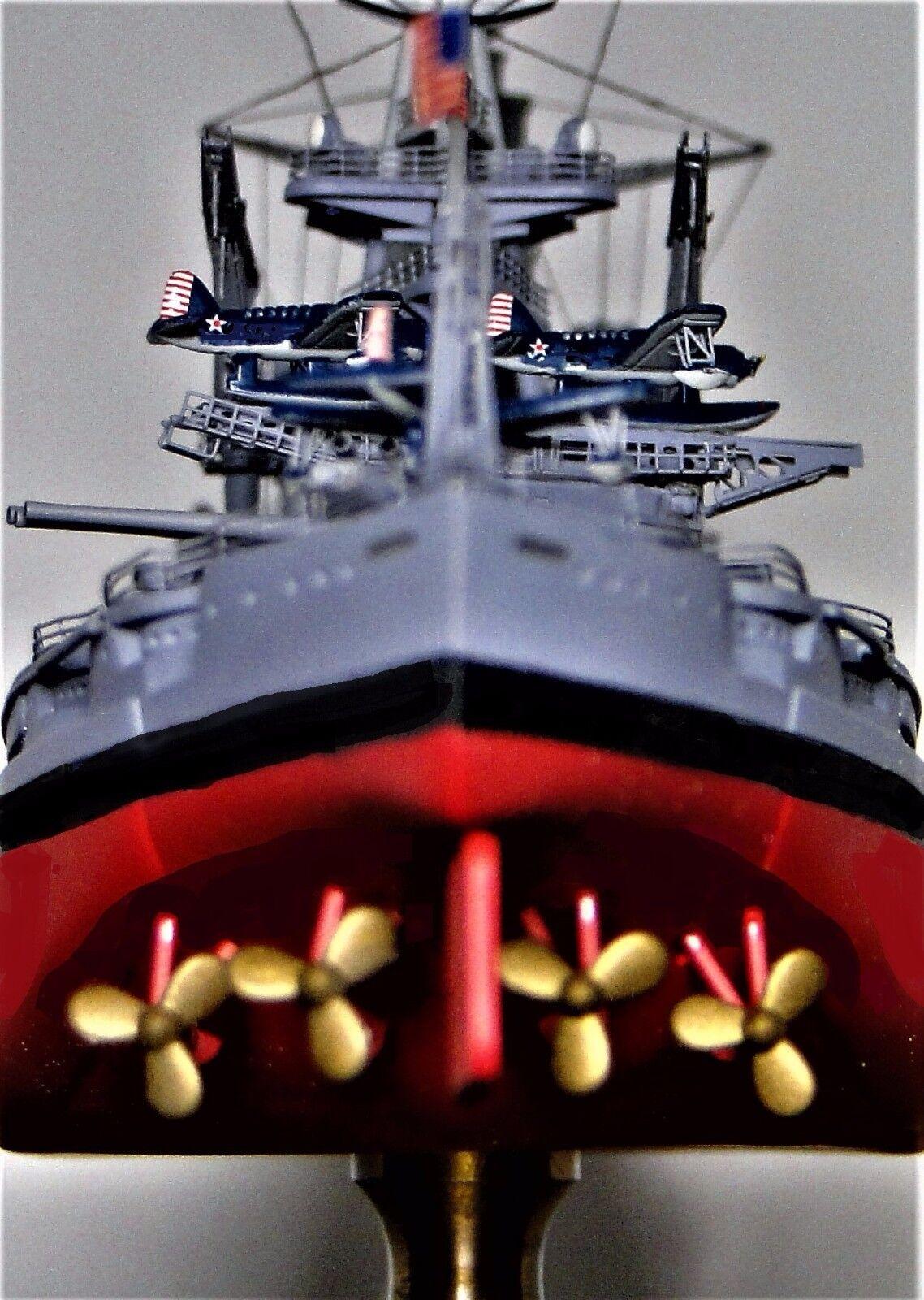 Segunda Guerra Mundial acorazado USS Arizona 1941 modelo de casco de metal Pearl Harbor Segunda Guerra Mundial