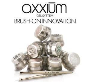 OPI AXXIUM GEL SYSTEM 8 Références Différentes 13.5gr