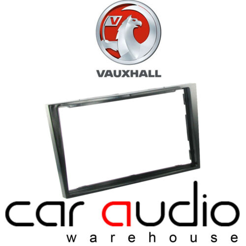 Vauxhall Astra H 2005 On Car Stereo Radio Double Din Fascia Piano Black Finish