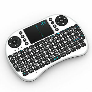 Details about Israel Hebrew Language Keyboard 2 4G Rii i8 Wireless Mini  Keyboard for Smart TV