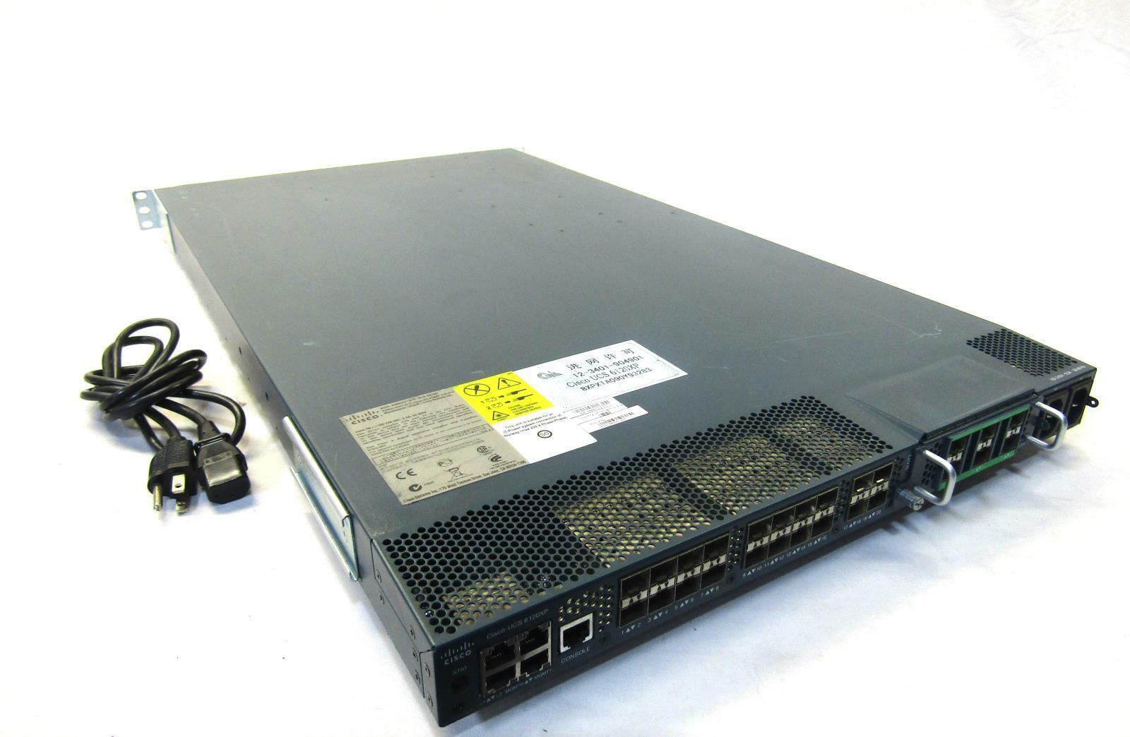 FABRIC INTERCONNECT N10-S6200 W// N10-E0060 CISCO UCS 6140XP 40-PORT 10GBE SFP