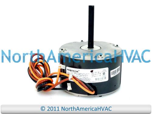 OEM Rheem Ruud Emerson Protech Condenser FAN MOTOR 1//6 HP 230v K55HXDRL-0014