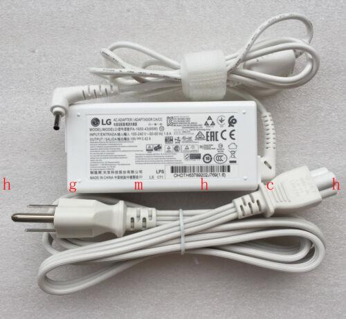 New Original OEM LG 65W 19V AC Adapter for LG gram 13Z950 13Z950-GR30K Laptop