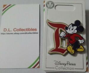 Disney-Mickey-Mouse-wearing-DLR-Gothic-D-Pin