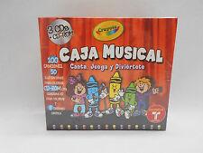 ''NEW'' CAJA MUSICAL Canta,juega y diviertete KID'S 3 CD BOX SET  MUSIC
