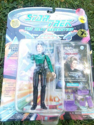 Star Trek The Next Generation Lieutenant commandant Deanna Troi 6th 7th saison