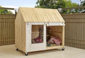 kinderhaus sylt kinderspielhaus gartenhaus kinder spielhaus holzhaus strandhaus ebay. Black Bedroom Furniture Sets. Home Design Ideas