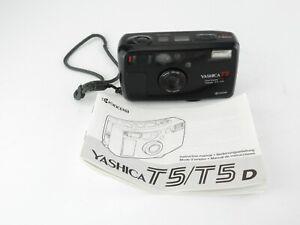 Yashica-T5-Kompaktkamera-compact-camera-Carl-Zeiss-Tessar-3-5-35-T-Anleitung