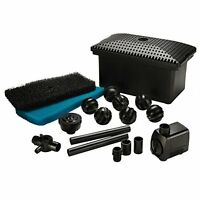 Pond Boss Filter Kit With Pump, Model Fm002p, New, Free Shipping