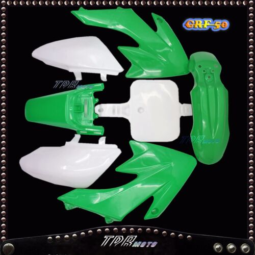 Green Plastics Fairing Kit CRF50 Styles for Pit Bike THUMPSTAR ATOMIK 70//90cc