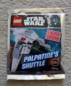 Lego-Star-Wars-Super-rare-911617-Palpatine-039-s-Shuttle-FOIL-edition-limitee