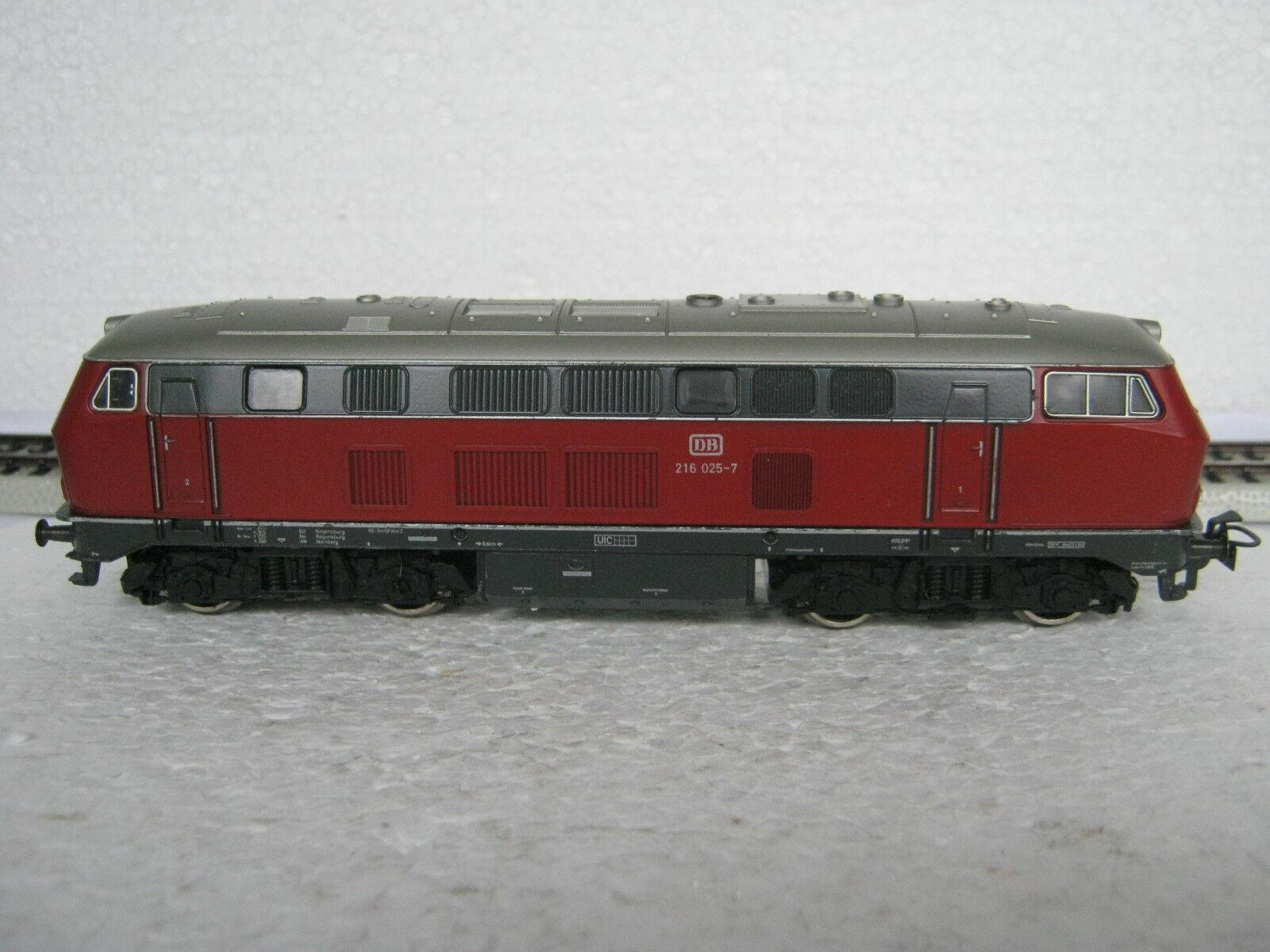 alta calidad general Marklin ho ac 3075 diesel Lok br br br 216 025-7 DB rojo (co 45-33r7 15)  conveniente