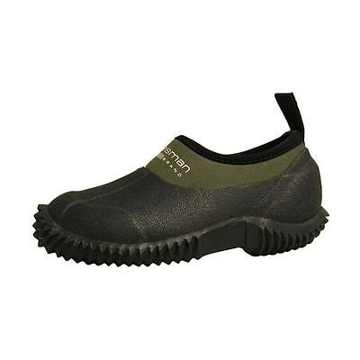 New Statesman Child Muck Shoes Waterproof Rubber River Camp Green Kids Size 13 With Traditional Methods Fins, Footwear & Gloves Unisex Shoes