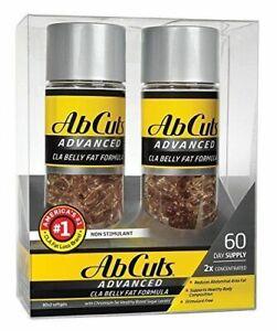 Ab-Cuts-ADVANCED-CLA-Belly-Fat-Formula-120-Softgels-2-packs-of-60