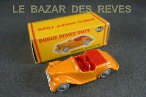 DINKY-TOYS-DUBLO-SINGER-ROADSTER-REF-062-Boite