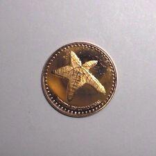 2015 San Andres 1 centavo, Starfish, animal wildlife coin