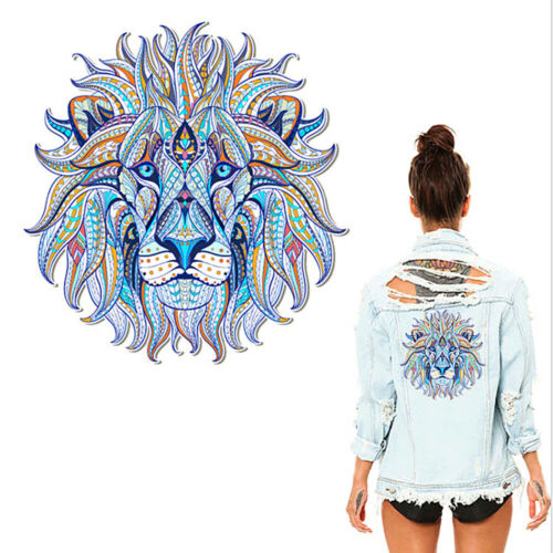 3D DIY Lion King Print Iron On Clothes Patches Heat Transfer Stickers Appliques//