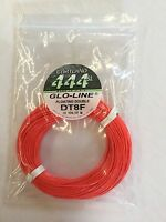Cortland 444sl Dt8f Glo-line Floating Double Fly Line Retail $62.00