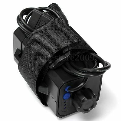 New 4x 18650 Battery Pack Waterproof Storage Case Cover For Bike Bicycle Lamp