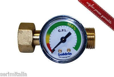 Entusiasta Indicatore Di Livello Di Gas Propano/butano - Per Bombole Attacco Italia