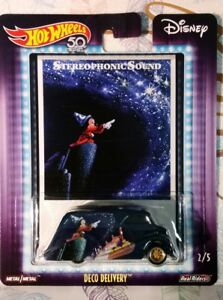 HOT-WHEELS-1-64-POP-CULTURE-DISNEY-2018-CASE-Q-DECO-DELIVERY-STEREOPHONIC-SOUND