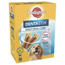 28Pc Pedigree Dentastix Daily Oral Care Dental Chew Treats for Large Dogs