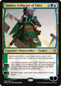 1 Tamiyo Gold War of the Spark Mtg Magic Rare 1x x1 Collector of Tales