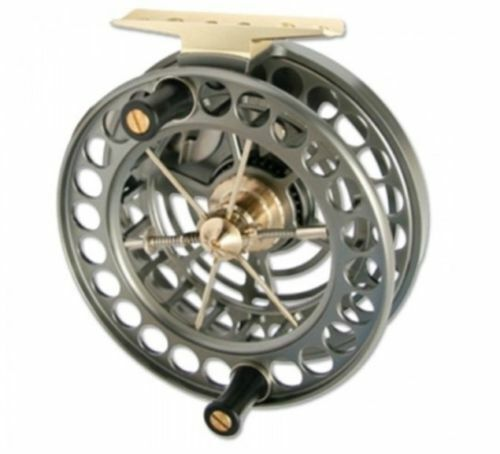 J W Young Super Lightweight 4  x 0.75    Centrepin Fishing Reel