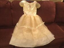 823ff9aaf Disney Store Princess Belle Beauty and the Beast Halloween costume dress  10/12