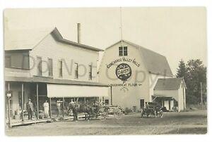 RPPC-CONEWANGO-VALLEY-NY-Mills-Mill-Store-Cattaraugus-County-Real-Photo-Postcard