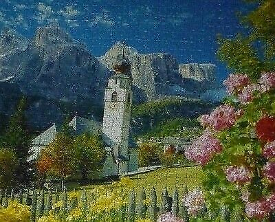 1500 Pcs Ravensburger Puzzle Italy Dolomites Mountains Flowers 162147 for  sale online | eBay