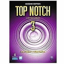Top Notch 3 with ActiveBook by Joan M. Saslow, Allen Ascher and Saslow (2011, CD-ROM / Paperback)
