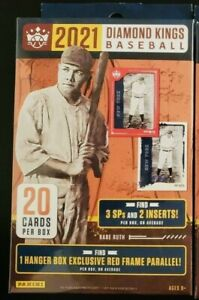 2021 Panini Diamond Kings Baseball Factory Sealed Hanger Box