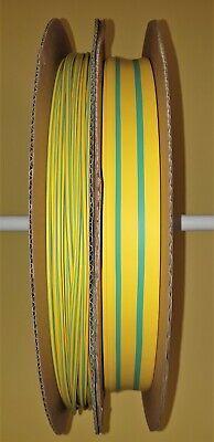Schrumpfschlauch 2:1 grün//gelb   Ø 1,2 bis 25 UL-Zulassung ab  25 cm