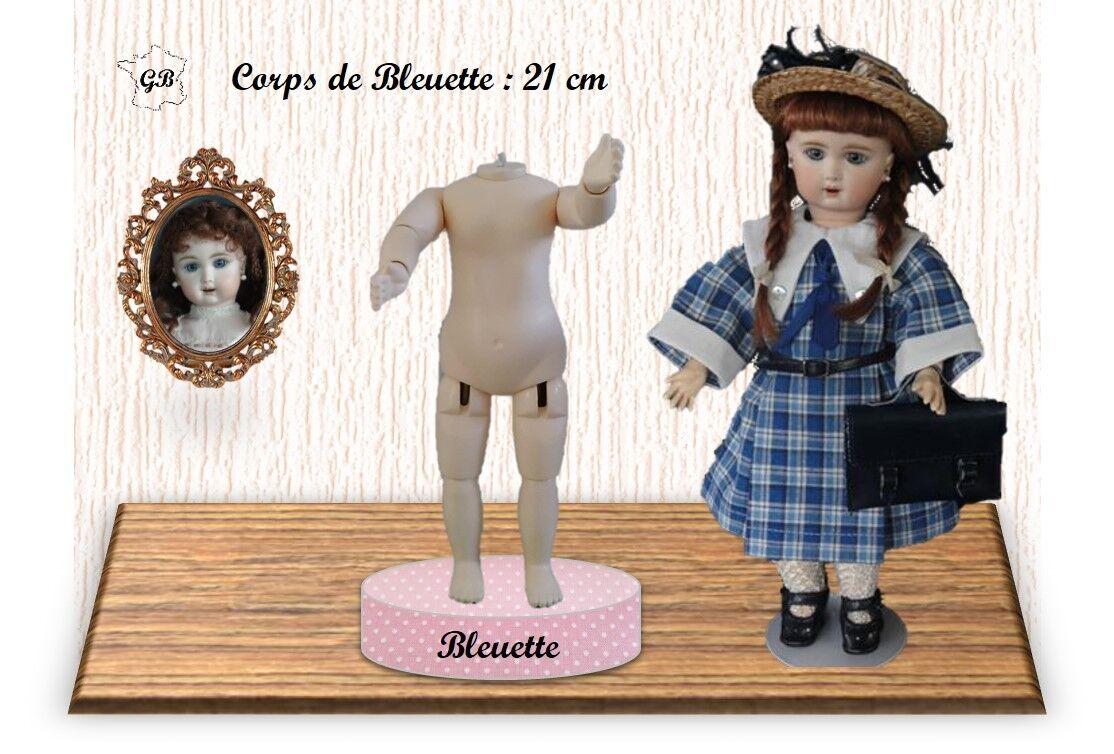 Corpo per  Bambola Vintage. Altezza 21cm Taglia bluette (G.Bravot Francia)  negozio outlet