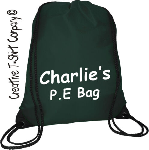 Great School Sports Day Bag Personalised NAVY School Bag P E Bag