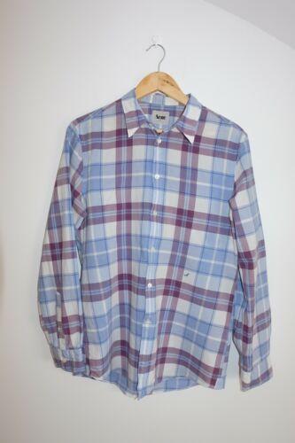 Acne Studios AW10 Slim Big Check shirt size 50